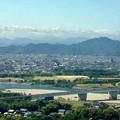 ツインアーチ138から見た金華山(2012年6月撮影) - 1