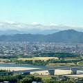 写真: ツインアーチ138から見た金華山(2012年6月撮影) - 5