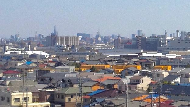 写真: 清洲城から見た名古屋テレビ塔(2012年4月撮影) - 1