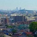 写真: 犬山城天守閣から見た名駅ビル群(2012年5月) - 3