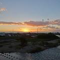 写真: 夕暮れ時の庄内川 - 1