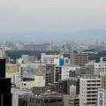 写真: セントラルタワーズ15階から見た景色 - 3:名古屋城の天守閣