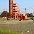写真: 水抜きした落合公園・落合池 - 11