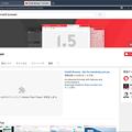 写真: Vivaldi 1.5.676.6:通常以外の設定画面で「Click to Play」が可能! - 2(YouTube)