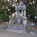 大垣公園 - 31:城西広場にある大垣消防組員頌徳碑