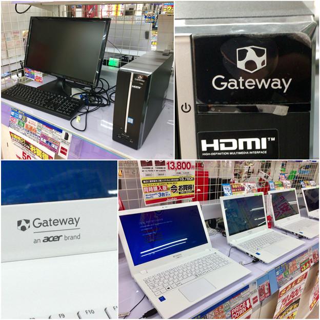 Joshin高蔵寺店に懐かしい「Gateway」ブランドのパソコン - 5