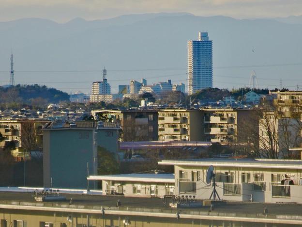 アピタ高蔵寺店屋上から見た景色 - 20:桃花台方面