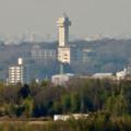 写真: 愛・地球博記念公園駅から見たスカイワードあさひ - 2
