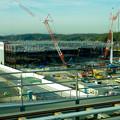 リニモ車内から見えた建設途中の「IKEA長久手」 - 5