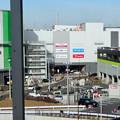写真: 長久手古戦場駅からイオンモール長久手越しに見えた瀬戸デジタルタワー - 1