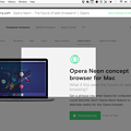写真: Operaの新しいコンセプトブラウザ「Opera Neon」がリリース! - 8:スクリーンショット撮影機能