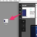 Opera Neon:スクリーンショット撮影機能 - 8(デスクトップにドラッグ)