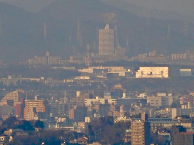東山スカイタワー展望階から見た景色 - 32:スカイステージ33とザ・モール春日井
