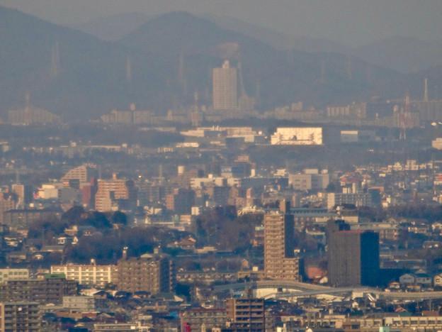 東山スカイタワー展望階から見た景色 - 33:スカイステージ33