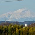 写真: 落合公園 水の塔から見えた御嶽山 - 4