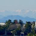 写真: 落合公園 水の塔から見えた岐阜の山々 - 2