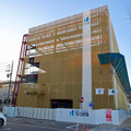 写真: 新しい建物の建設が始まってた、ヤマダ電機テックランド春日井店(2017年1月26日)- 2