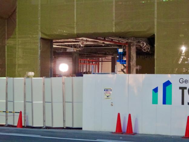 新しい建物の建設が始まってた、ヤマダ電機テックランド春日井店(2017年2月27日)- 5