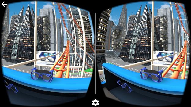 ハコスコでジェットコースターVRが体験できるアプリ「VR Roller Coaster」- 3