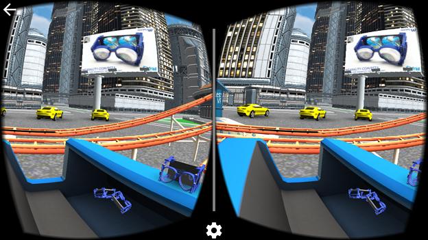 ハコスコでジェットコースターVRが体験できるアプリ「VR Roller Coaster」- 4