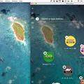 Opera Neon:Mac用壁紙アプリ「Beautiful Earth」の壁紙はスピードダイヤル背景に設定可能 - 2