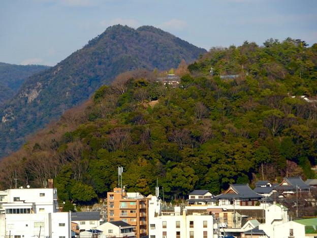 犬山城から見た善光寺 - 1