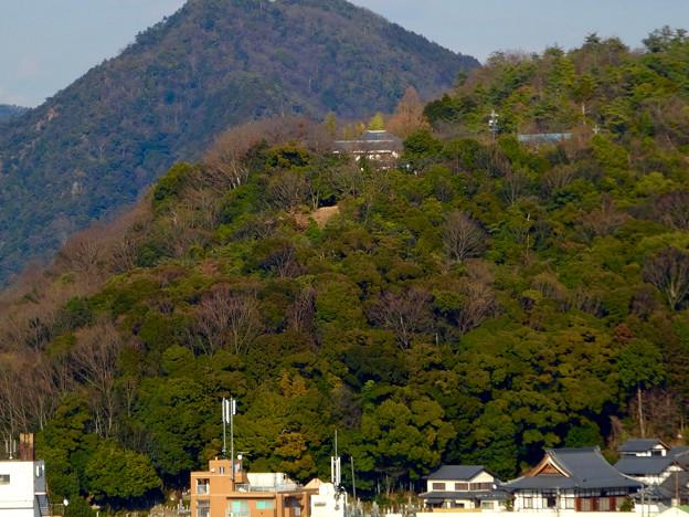 犬山城から見た善光寺 - 2