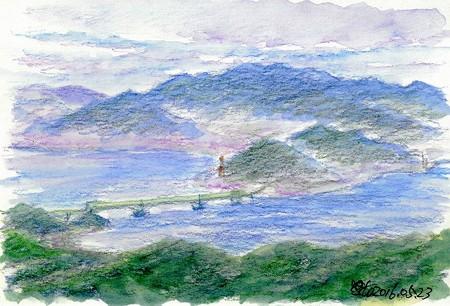 20160523大島大橋と飯の山