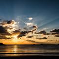 写真: 弓ヶ浜の朝