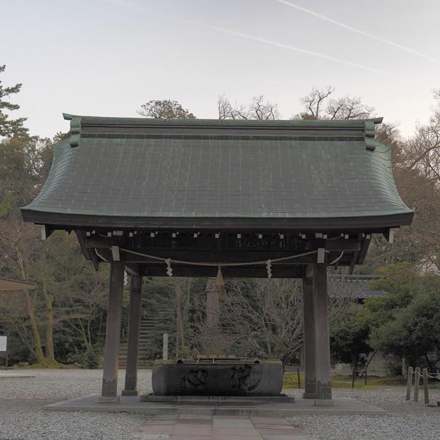 尾山神社 心洗