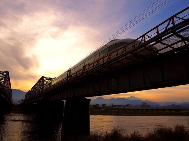 写真: 酒匂川橋梁