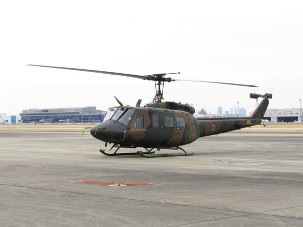 Photos: UH-1J 41872号機