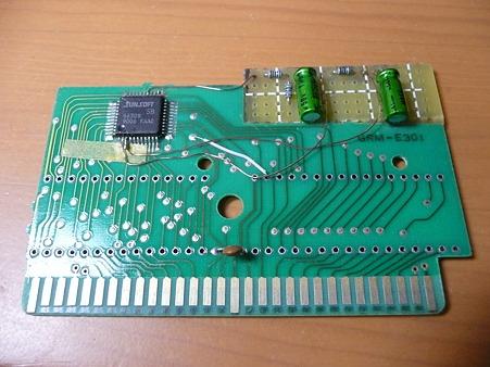 ドッジ弾平基板のsunsoft5Bを拡張音源化