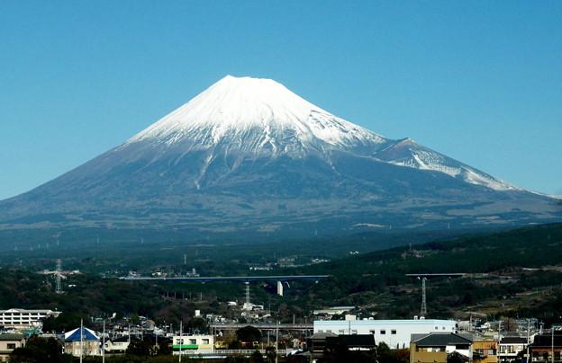 のぞみ号から富士