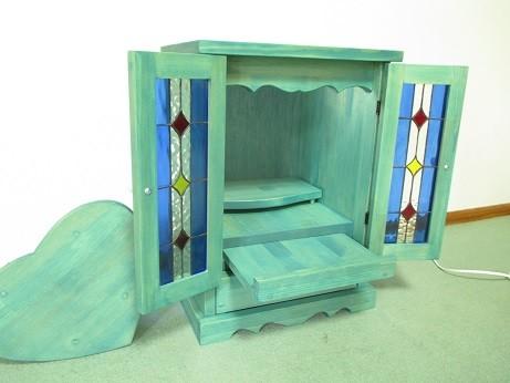 ステンドグラス ミニ仏壇