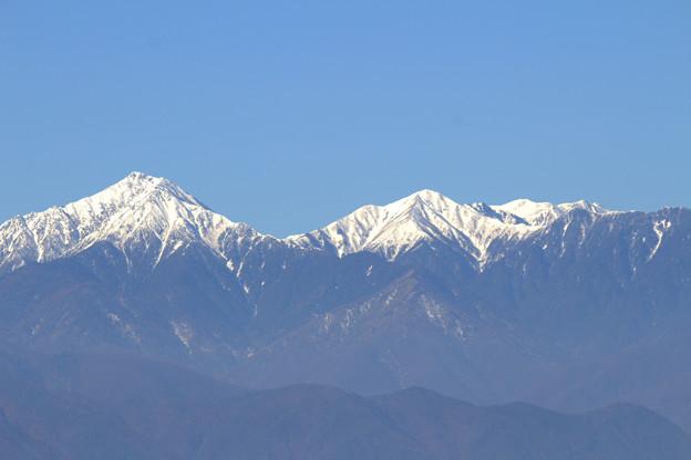 Photos: 常念岳と横通岳