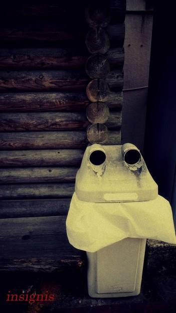 写真: 泣きべそ......