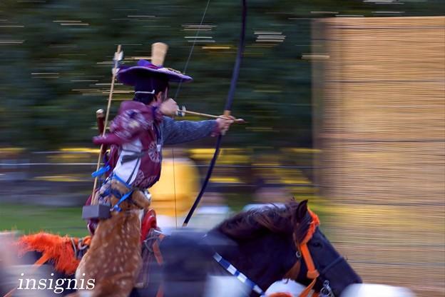 Photos: 河越流鏑馬祭1