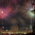 Photos: 港町の花火