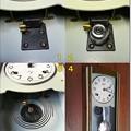写真: ボンボン時計の完成