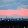 田丸城からの富士山