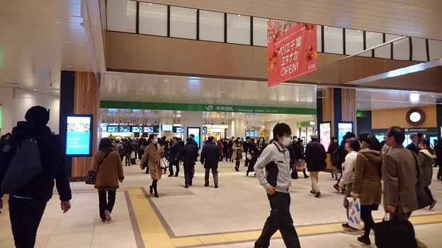 中央改札 [JR 千葉駅]