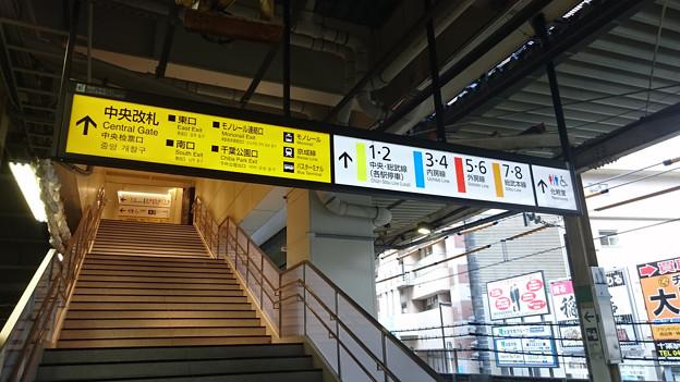 9-10番線ホーム階段 [JR 千葉駅]