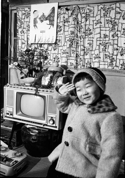 写真: 昭和40年のお正月