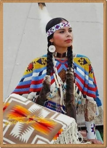 Beautiful American Indian girl(1)