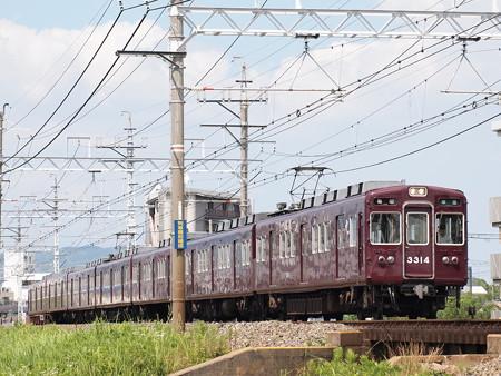 阪急3300系準急 阪急京都線総持寺~茨木市