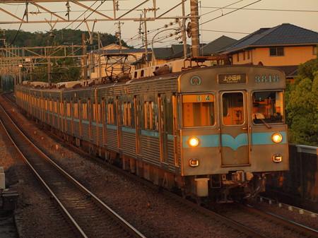 名古屋市営地下鉄3000形普通 名鉄豊田線黒笹駅