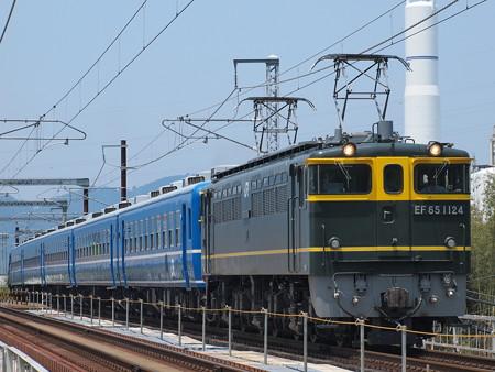 EF65 北びわこ回送 北陸本線河毛~高月02