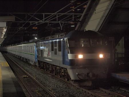 EF210 メトロ16000系甲種 東海道本線安城駅04