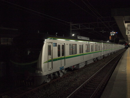 メトロ16000系甲種 東海道本線安城駅05